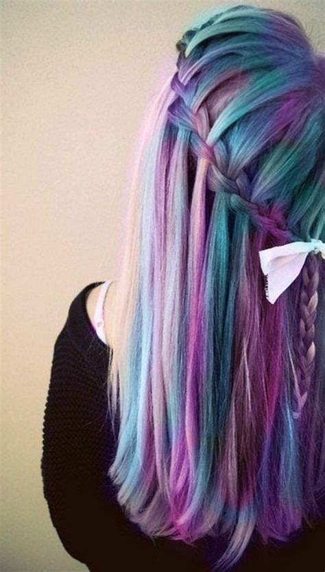Hair Color Design Ideas by 30 Dyed Hair Ideas And Design