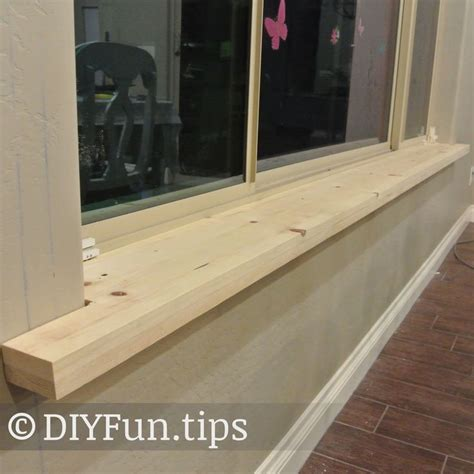 Wood Effect Window Sills Diy Do It Different Better Cheaper My