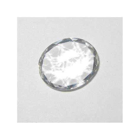 Batu Blue Topaz 4 50 Karat jual batu topaz alami putih bening 4 62 carat oval