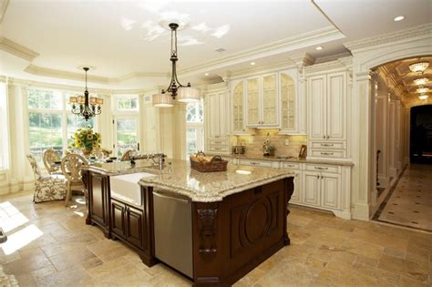 Over Island Kitchen Lighting by Mansion In Alpine Nj