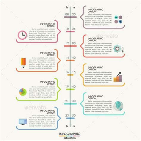 25 Amazing Timeline Infographic Templates Design Inspiration Pinterest Timeline Minimal Drawing Infographic Template