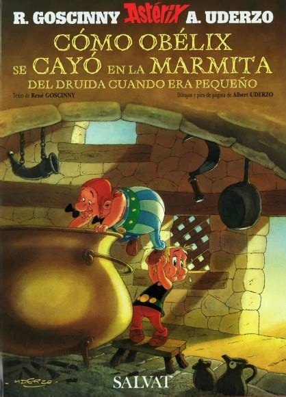 libro como obelix se cayo ast 233 rix the collection special issue albums how obelix fell into the magic potion when he