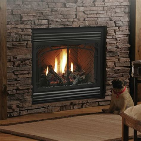 gas fireplace clearance kingsman hb3624 zero clearance direct vent gas fireplace fireplaces kingsman