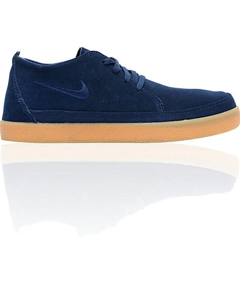 T Shirt Navy Nike 6 0 nike 6 0 rzol low suede navy gum skate shoe at zumiez pdp