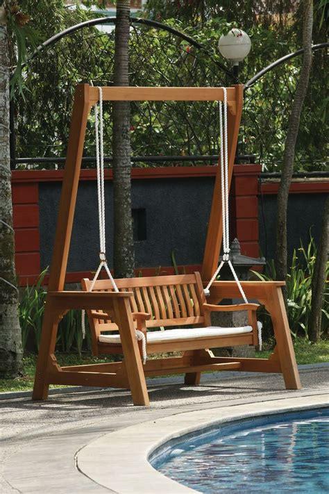 wooden bench swings best 25 bench swing ideas on pinterest outdoor patio