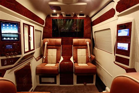 Mercedes Sprinter Custom Interior by Lexani Motorcars Presented Mercedes Sprinter L5 B