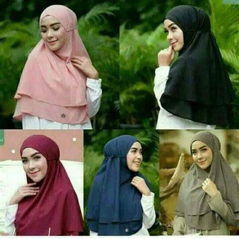 Rubiah Khimar jilbab syar i khimar rubiah terbaru 2017 bundaku net