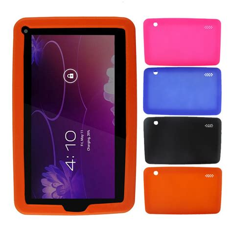 android cover soft silicone cover for 7 inch android capacitive mid tablet pc shockproof ebay