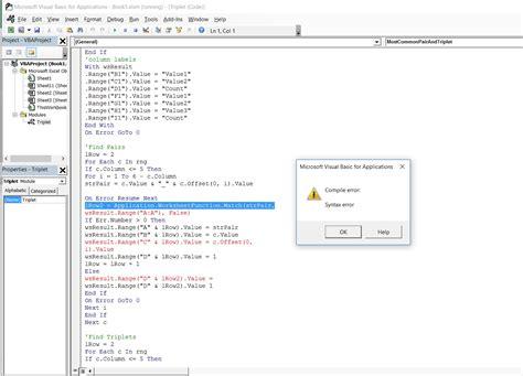 100 vba on error resume next visual basic on error resume next doesn t work 28 images excel