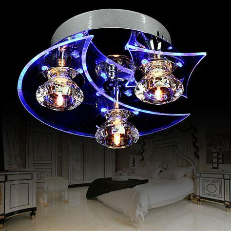 retro dining room crystal chandelier ceiling led light