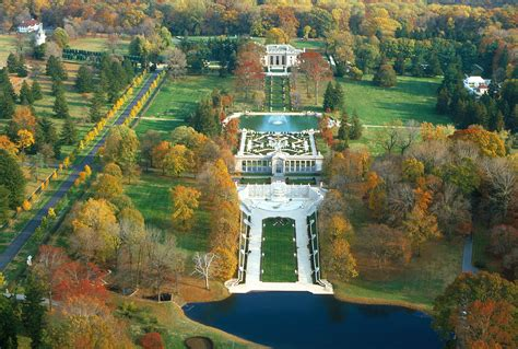 Nemours Gardens by Nemours Mansion And Gardens A I Du Pont S American