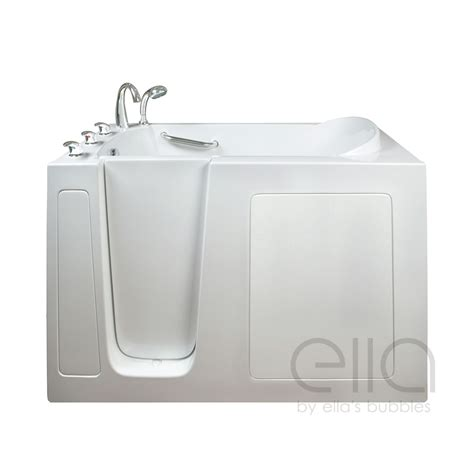 Narrow Bathtub by Narrow Gel Coat Walk In Bathtub Ella S Bubbles