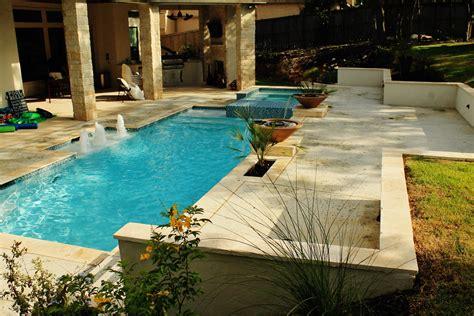 pool san antonio new swimming pool and spa combination gallery trinity