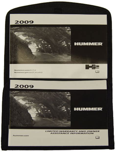 electric power steering 2009 hummer h2 user handbook 2009 hummer h2 owners manual glovebox pouch black for us canada models 20788573 factory oem parts