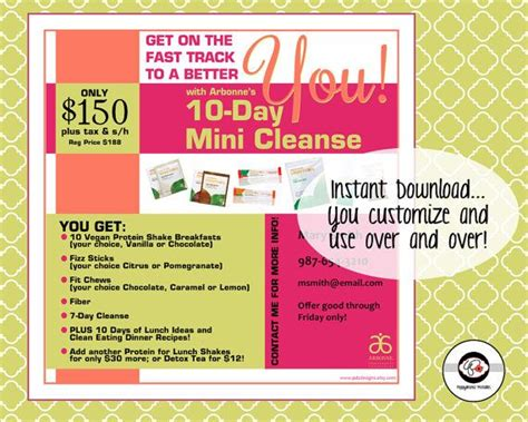 Arbonne 10 Day Detox by 181 Best Arbonne 30 Days To Healthy Living Images On