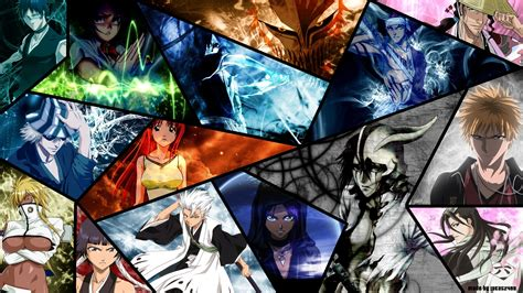 wallpaper anime character bleach characters bleach anime hd wallpaper for macbook