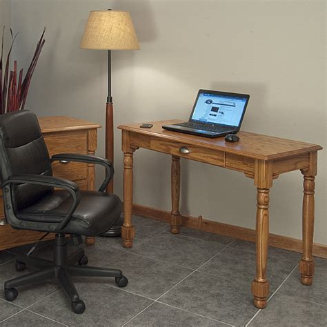 solid oak office desk country solid oak office computer desk 43 the oak