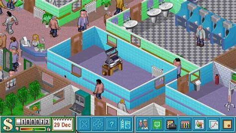 theme hospital newspaper a new theme hospital or black white game could be