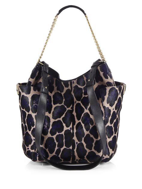 Leopard Print Shoulder Bag jimmy choo leopard print calf hair shoulder bag in