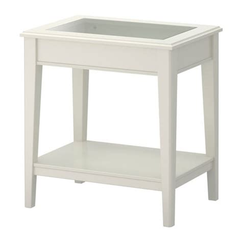 ikea side table bedroom liatorp side table white glass ikea