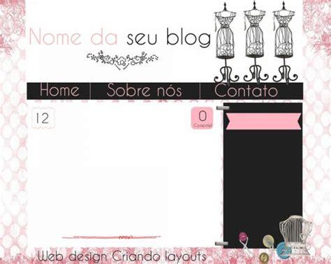 layout para blog literario 1 template para blog 02 criando layouts