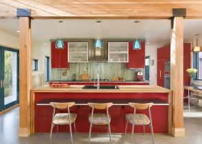 kitchen decorating ideas with red accents modern design trends and interior