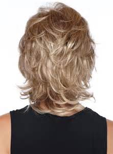 shag neckline hair cut shaggy layered neckline hairstyles back view