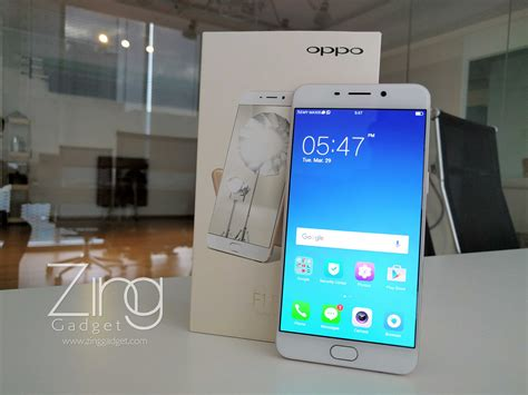 Gadget Smartphone Oppo F1 S exclusive oppo f1 plus gold unboxing zing gadget