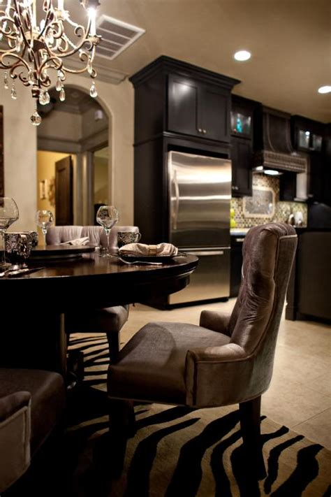 Black Dining Room Cabinet by Black Kitchen Cabinets Dining Room