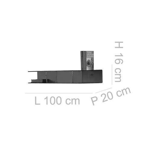 mensola da parete mensola da parete 100x20xh16 cm bi mensola pensile in