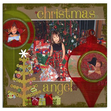 231 best images about scrapbook layouts christmas trees