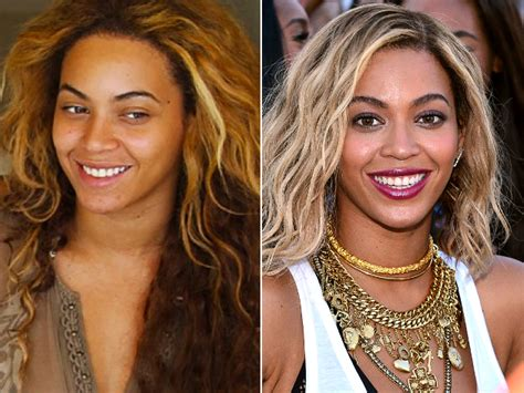 celebrities without makeup before and after 2015 beyonce without makeup before and after 2015 mugeek