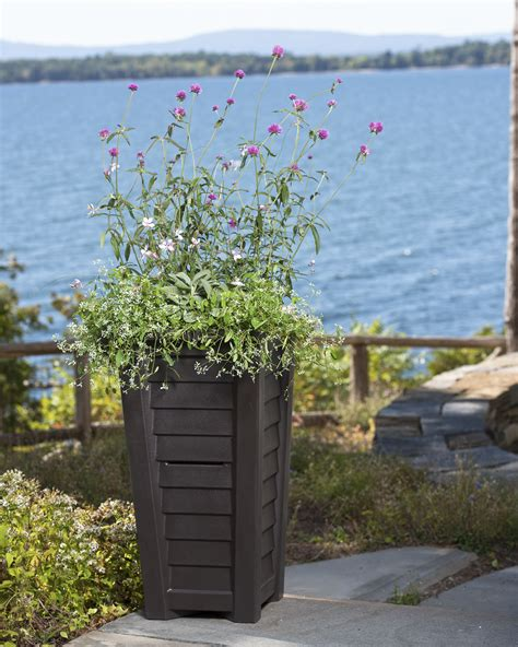 Self Watering Outdoor Planters by New Large Outdoor Planters Self Watering Pots