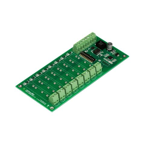 Modul Relay 8 Ch dmx 8 ch solid state relay output module andrewlabs