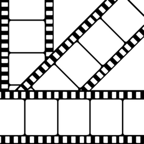 free filmstrip template blank template clipart best