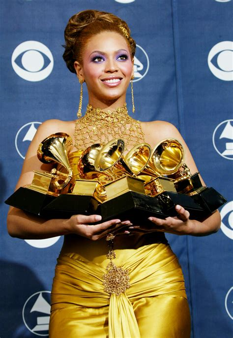 Subdued Styles Dominate Grammy Fashion by Looking Back At Beyonc 233 S Best Fashion Looks Throughout