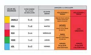 no circula sabatino 2016 calendario hoy no circula nuevo transporte mx