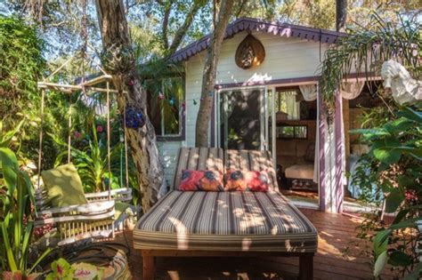 airbnb tiny house california tropical tiny house in california