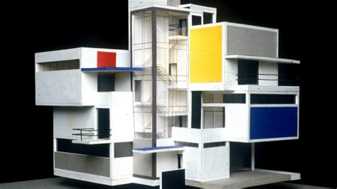 artist house theo van doesburg model artist house 1923 atlas of