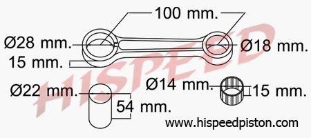 Npp Stang Seher Connecting Rod Yamaha Xeon daftar connecting rod stang seher motor yamaha seputar sepeda motor