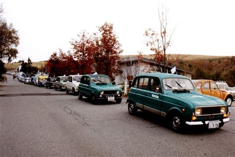 renault japan renault 4 play events 40th anniversary of the r4