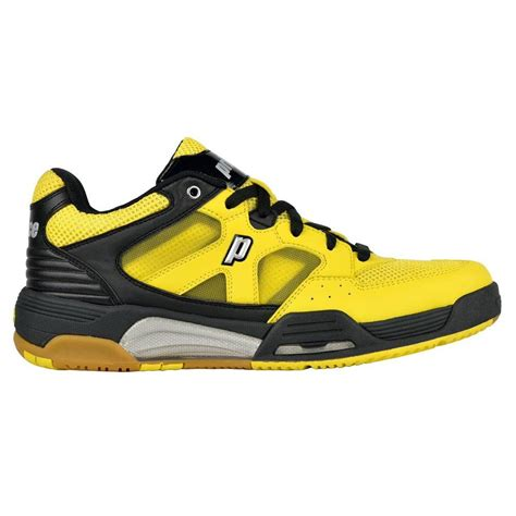 squash shoes for prince nfs attack squash shoes yellow black white