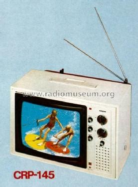 crp color color television crp 145 television hitachi ltd tokyo