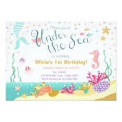 the sea invitation template the sea birthday invitations announcements