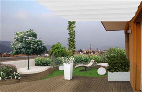 progettare terrazzo verde progetto progettazione di terrazzi