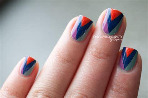easy nails using tape 32 amazing diy nail art ideas using scotch tape style