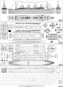 blueprints of the ship of dreams titanic
