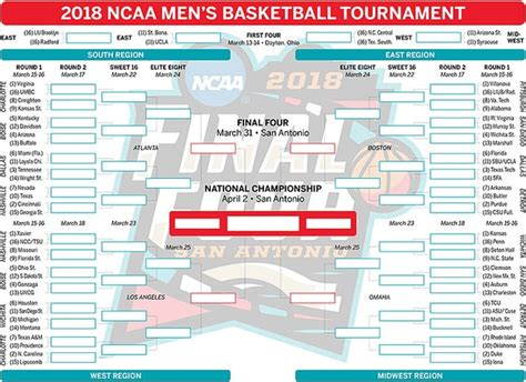 march madness nj man says office sports pool ruined his march madness 2018 get your printable bracket right here