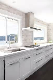 no upper cabinets contemporary kitchen moeski design agency - 36 beautiful white luxury kitchen designs pictures