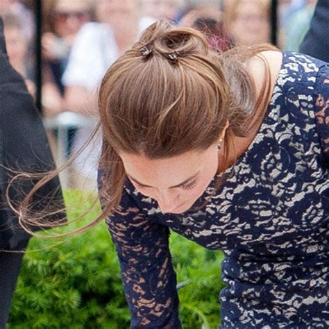 half up half down hairstyles kate middleton a trendy life kate middleton inspired half up do